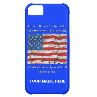 A Nation Divided Cover For iPhone 5C