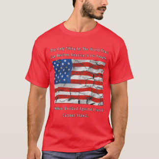 A Nation Divided (FRONT & BACK design) T-Shirt