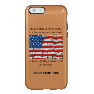 A Nation Divided Incipio Feather® Shine iPhone 6 Case