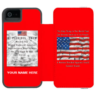 A Nation Divided Incipio Watson™ iPhone 5 Wallet Case