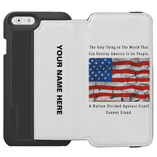 A Nation Divided Incipio Watson™ iPhone 6 Wallet Case