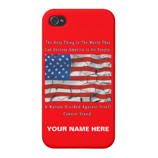 A Nation Divided iPhone 4/4S Cover