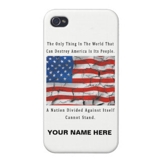 A Nation Divided iPhone 4/4S Covers