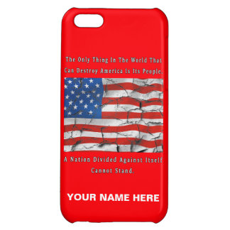 A Nation Divided iPhone 5C Cover