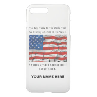 A Nation Divided iPhone 8 Plus/7 Plus Case