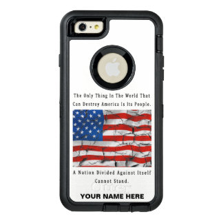 A Nation Divided OtterBox Defender iPhone Case
