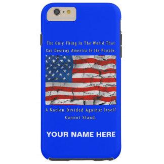 A Nation Divided Tough iPhone 6 Plus Case