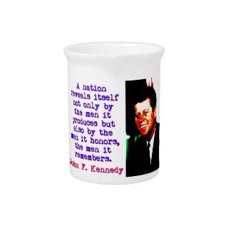 A Nation Reveals Itself - John Kennedy Pitcher
