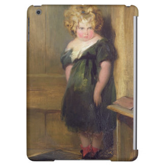 A Naughty Child (oil on canvas) Cover For iPad Air