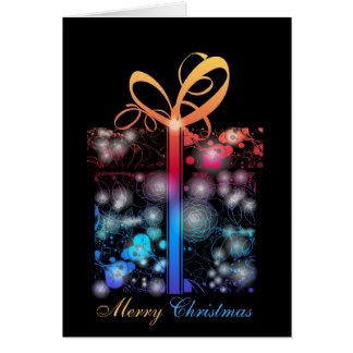 A Neon Christmas Card