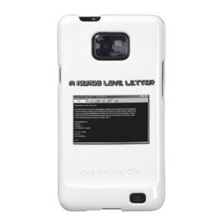 A Nerd Love Letter Galaxy S2 Case