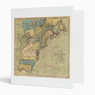 A new and accurate map of North America (1771) Binders