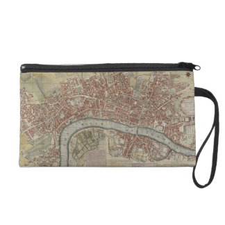 A New and Exact Plan of the Cities of London and W Wristlet Clutch