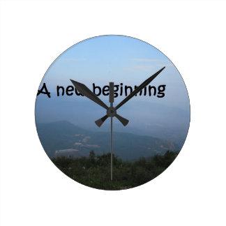 A new beginning clock