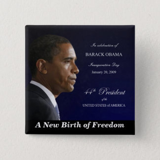 A New Birth of Freedom - Square Button