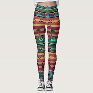 A new Christmas pattern Leggings
