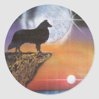 A New Dawn Classic Round Sticker