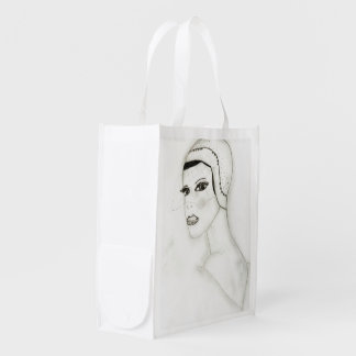 A New Flapper Girl Grocery Bags