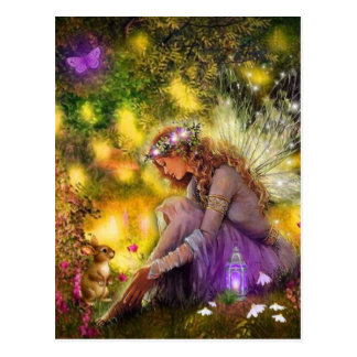 A New Friendship Fantasy Fairy Postcard