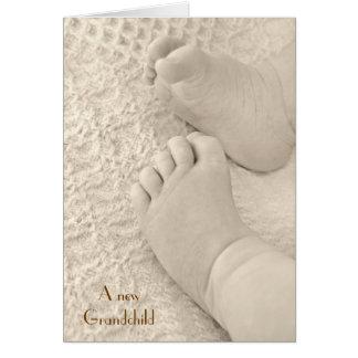 A New Grandchild Card