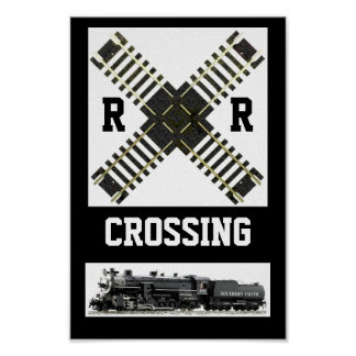 A New Look, Of A Railroad Crossing Sign