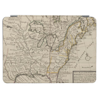 A new map of ye north parts of America iPad Air Cover