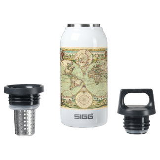 A new mapp of the world - Atlas Insulated Water Bottle