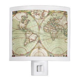 A new mapp of the world - Atlas Nite Lites