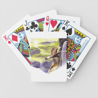 A New World Bicycle Playing Cards