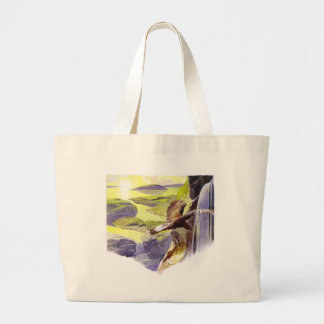 A New World Large Tote Bag