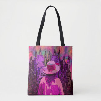 """A New World"" Tote Bag"