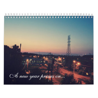 A new year presses on... calendars