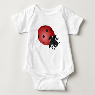A nice lady bug for your baby baby bodysuit