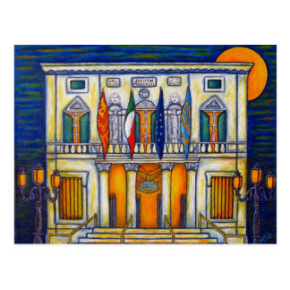 A Night at the Fenice by Lisa Lorenz Postcard