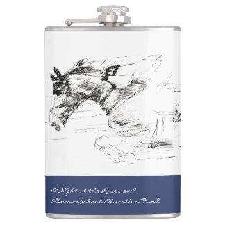 A Night at the Races - Auction Gala 2018 Flask