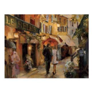 A Night in Paris Postcard