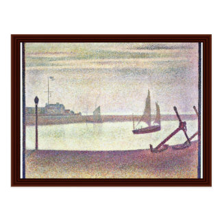 A Night On The Channel Of Gravelines Postcard