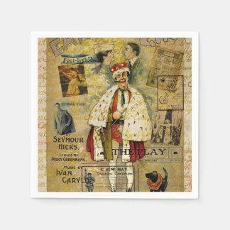 A Night on the Town Christmas Treat Paper Napkins