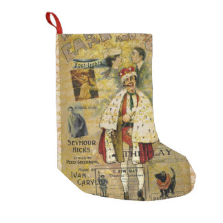 A Night on the Town Christmas Treat Small Christmas Stocking