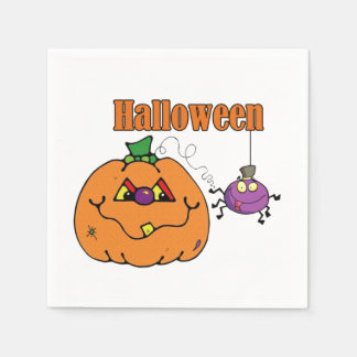 A Night To Remember Halloween Party Paper Napkins