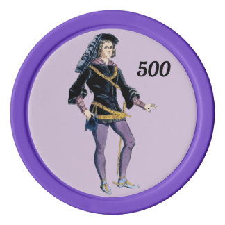 A Nobleman ~ 1400 ~ Poker Chips
