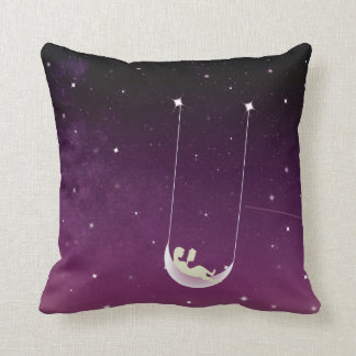 A Nook.. A Swing!- Meraki Shop Throw Pillow