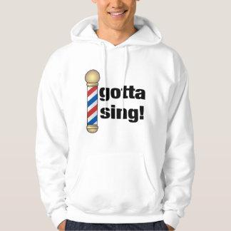 A obtenu de chanter le cadeau de raseur-coiffeur veste à capuche