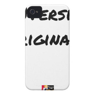(A) Original version - Word games iPhone 4 Cover