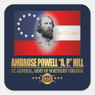 A.P. Hill (Southern Patriot) Square Sticker