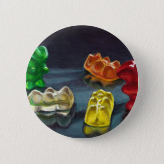 A Pack of Candy 2 Inch Round Button