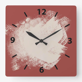 A Painters tan red ochre Wallclocks