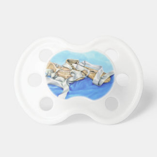 A Pair of Ballet Shoes Baby Pacifiers