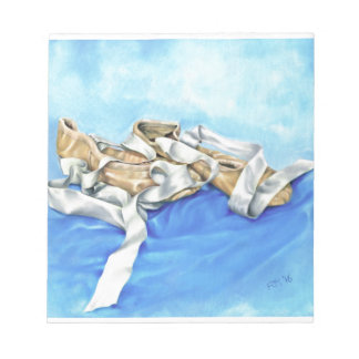 A Pair of Ballet Shoes Notepads