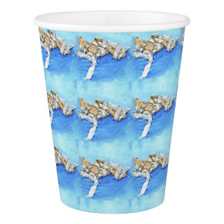 A Pair of Ballet Shoes Paper Cup